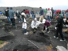秦野市の湘南車検センター富士山春の植樹祭4