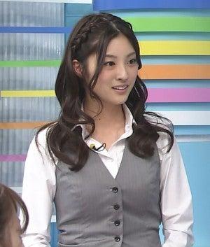 髪を巻いた岩本乃蒼がかわいい
