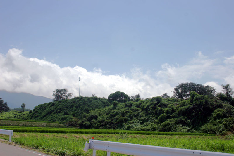 北熊井城/①遠景