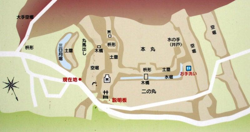 牧之島城/①図
