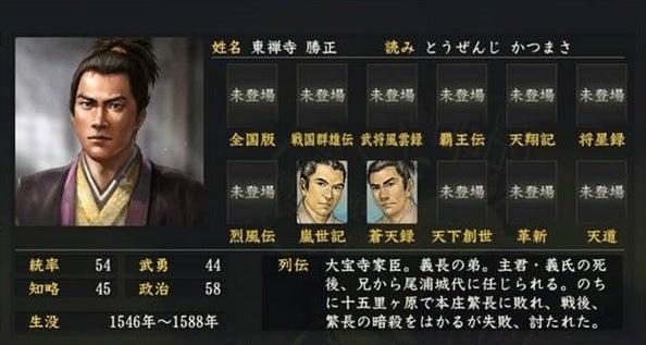 東禅寺勝正 (とうぜんじ かつま...