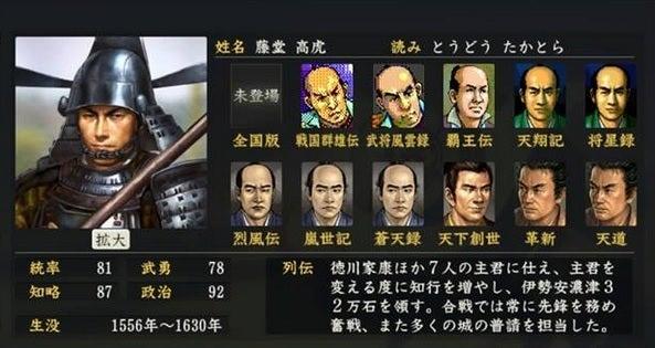 「藤堂高虎」の画像検索結果