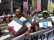 銀座柳まつりパレード東京スマートドライバー4