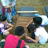 初めての種まき@凛童舎・畑プロジェクトの画像