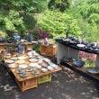 益子焼、陶器市。