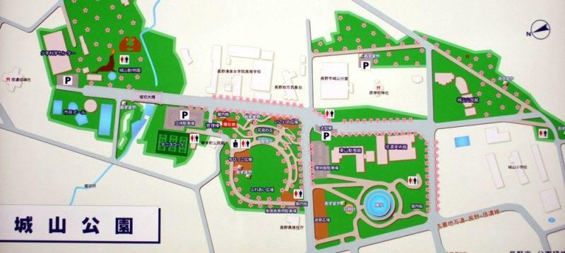 横山城/①城山公園の案内図