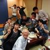 学生たちと食事会の画像