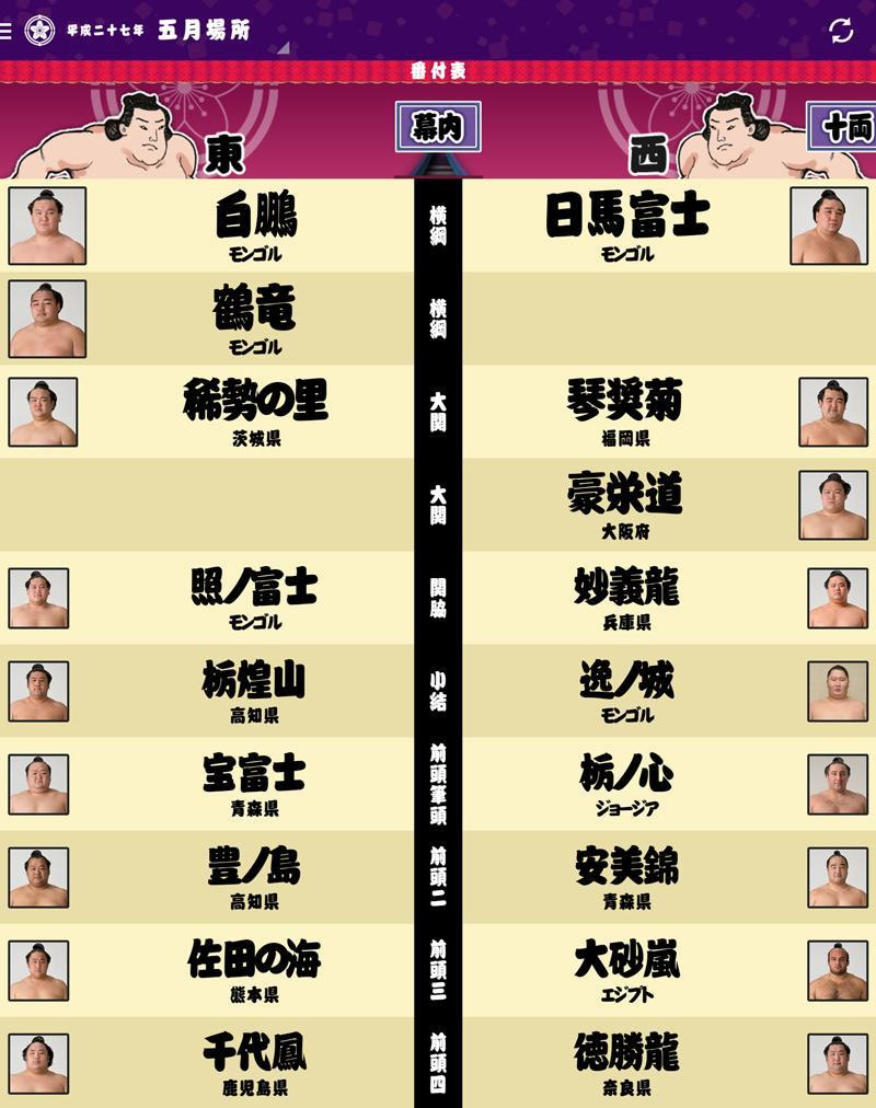 平成27年5月場所   名も無き店長...