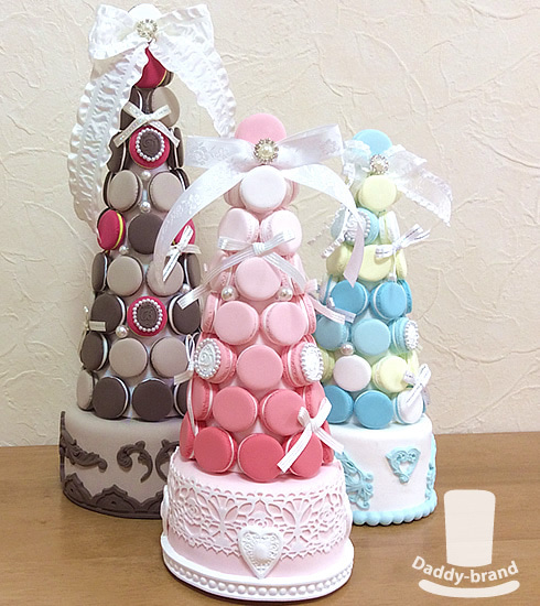 SWEETIE CLAY MACARON TOWER
