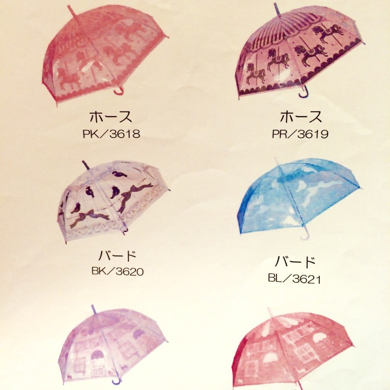 ビニール 傘 かわいい