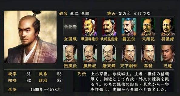 「直江景綱」の画像検索結果