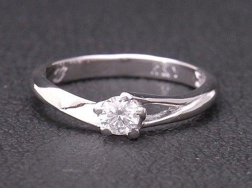 婚約指輪,プラチナ,手作り