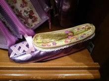 ラプンツェルの靴型ペンケース 東京ディズニーリゾート限定