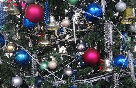 クリスマスツリー装飾〈著作権フリー無料画像〉Free Stock Photos