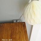 セリアのLEDケーブルライト+ハニカムボールで作ったちょっとカワイイものの記事より
