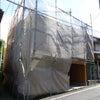 お化粧なおし 京都市左京区 Sさま邸 外観工事 足場設置の画像
