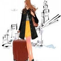 スーツケースと歩き方
