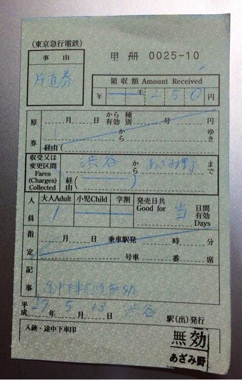 東急の出札補充券 | 鉄道&フォトギャラリー