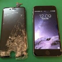 iphone6ガラス…