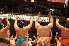 幕内、十両土俵入り。 大相撲 平...