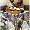 真弓さんとワンコデートの画像