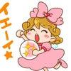 LINEスタンプ【心の声のピースちゃん】発売中!の画像