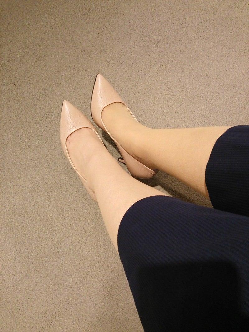 shoeplay in very vintage high heels - YouTube