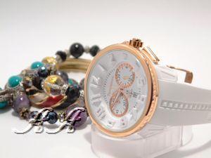 tendence時計レディースホワイト02046014