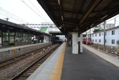 名古屋を通り過ぎて須ヶ口駅へ |...