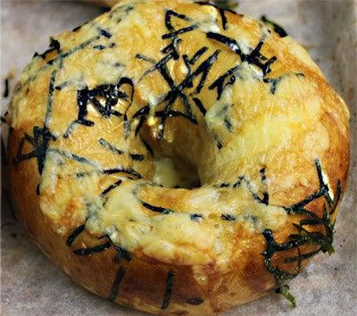 豆乳海苔チーズベーグル