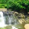 大蛇住む伝説の滝の画像