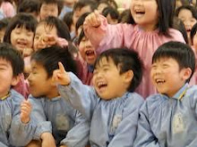 子どもたちの笑い