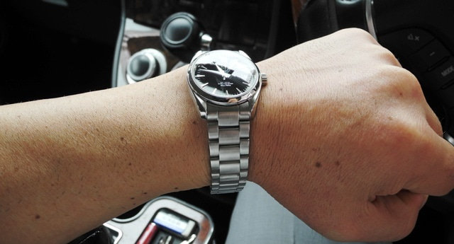 best website a8531 f4b52 腕時計遍歴28 オメガ・シーマスター・アクアテラ 2504.50 黒文字 ...