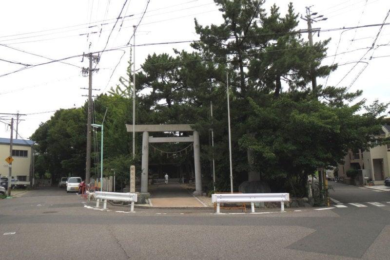 稲葉地城/①神明社