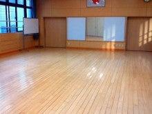 練習場所の公民館の写真