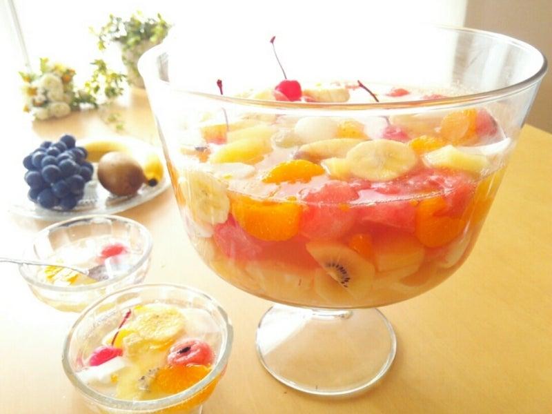 フルーツ ポンチ の 作り方