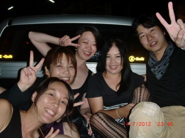 試験合格お祝いゲイバーパーティー☆2