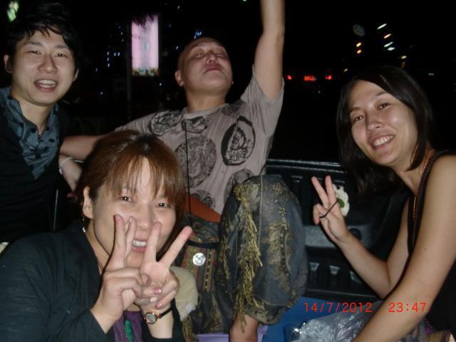 試験合格お祝いゲイバーパーティー☆1