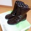 新しい長靴の画像