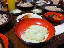 20150607田植えツアー大内宿昼食
