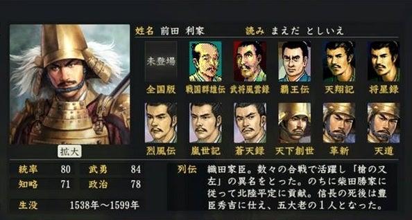「前田 利家 大志」の画像検索結果