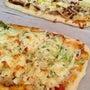 キャベツたっぷりピザ…