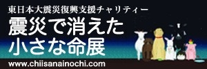 東日本大震災復興支援チャリティー 震災で消えた小さな命展