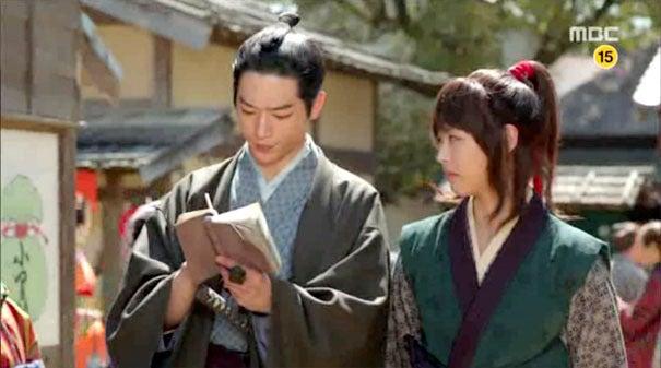 韓国・ソウルの中心で愛を叫ぶ!■江戸時代版、日本観光CMのような『華政』の日本シーン!