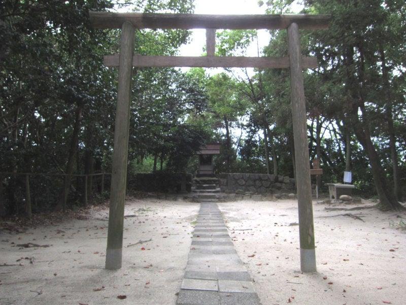 大高城/⑤主郭にある神社