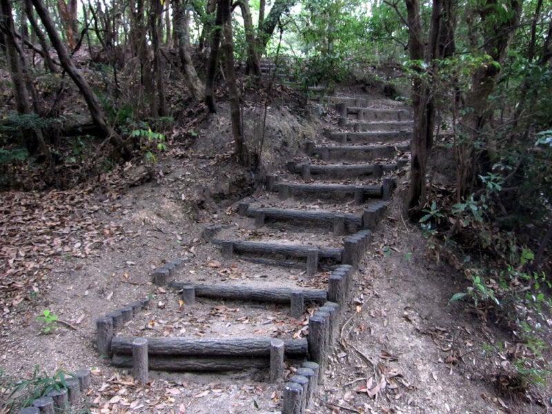 丸根砦/③階段