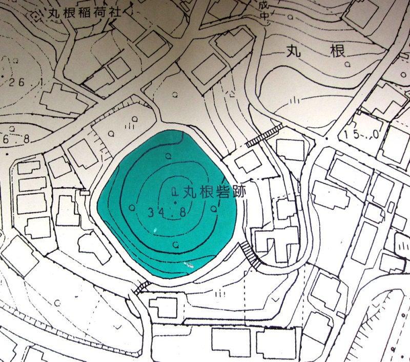 丸根砦/①案内図