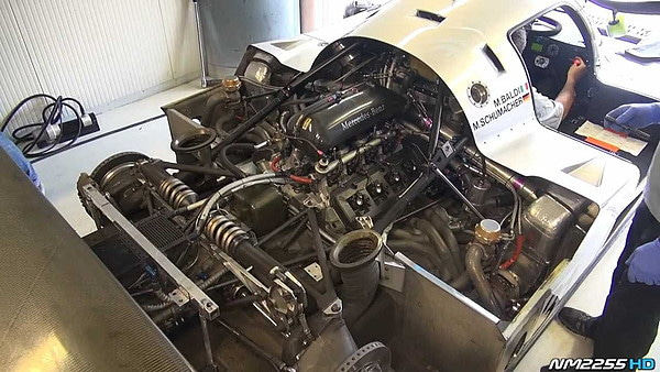 Sauber Mercedes C11 Twin-Turbo V8 Sound   Ghost Riponの屋形(やかた)