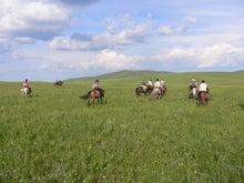 #天の川キャンプ 乗馬のホリデイ モンゴル