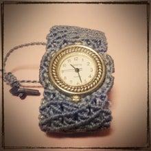 レース編み時計